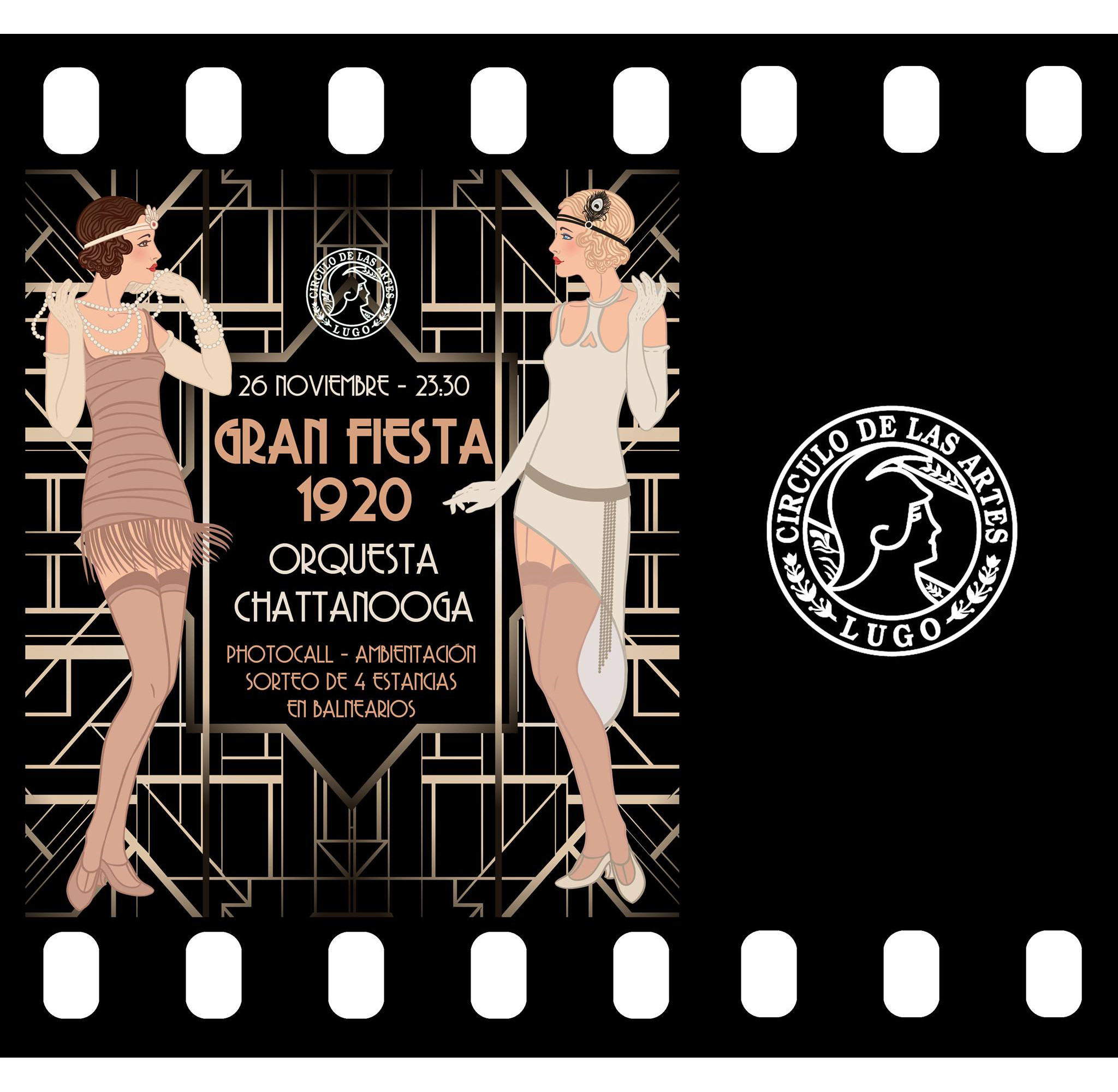 El c rculo inaugura su oferta de fiestas tem ticas con un gran baile ambientado en los a os 20 - Fiesta anos 20 ...