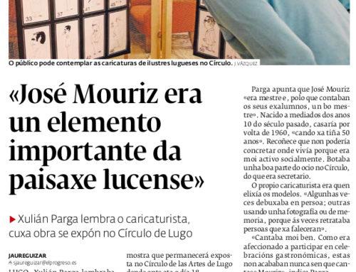 Pepe Mouriz: homes de Lugo (inauguración)